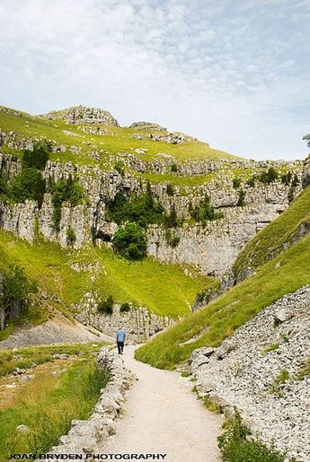 Gordale Scar, Yorkshire Dales, North Yorkshire, England