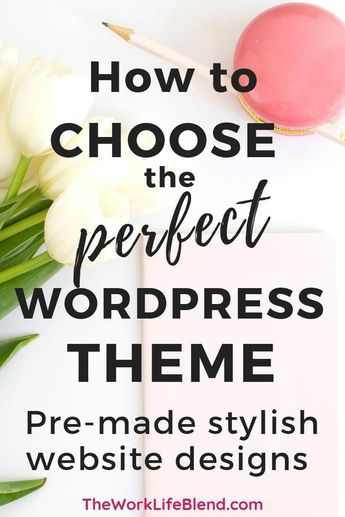 This is a step by step tutorial on how to download a free WordPress Theme template. Also includes tips on how to choose the perfect WordPress theme for your blog or business website. #WordPresstips #Startablog #WordPress #howtodesignawebsite