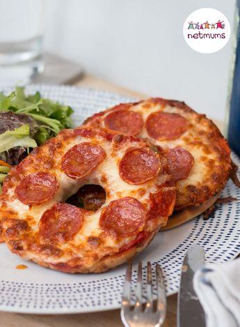 Pitta bread pizza