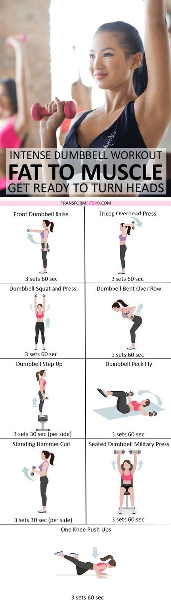 💪🏼 Rapid Results Dumbbell Workout! Adding Weights Will Turn Fat to Muscle! Get Ready to Turn Heads...