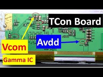 Introduction to LED LCD TV Panel Repairing - YouTube