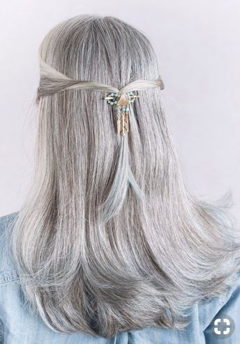 Top 10 Hairstyles for Long Gray Hair