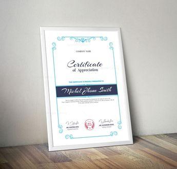 Stylish Certificate Design Templates 002933 - Template Catalog