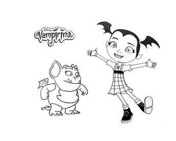 malvorlagen vampirina - drawmitvorlage