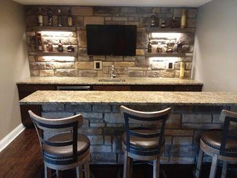 Custom Stone Bar
