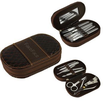 a75f88f0e4d 13 in 1 Multifunctional Lady Girls Cosmetic Brushes Manicure Pedicure Set  (Brush, Mirror,