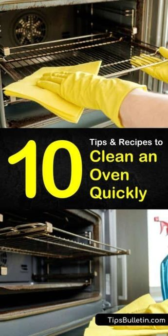 10 Easy Tips and Recipes to Clean an Oven Quickly How to Clean an...