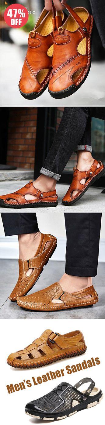 Men's sandals Now 50% OFF! Good quality! Use promo code 'CORACHIC8'! Shop now!