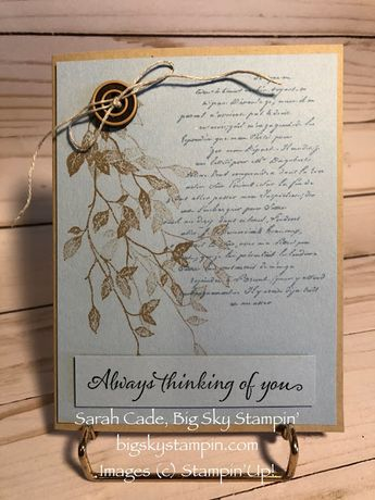 Big Sky Stampin': Very Lovely Very Versailles