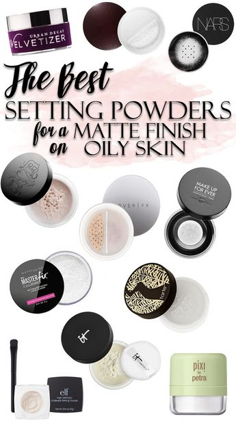 The BEST Makeup Setting Powders for Oily Skin