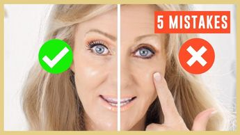 5 Biggest Makeup Mistakes On Mature Eyes Tutorial Over 50 | Fabulous50s - YouTube