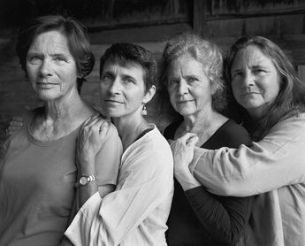 Forty Portraits in Forty Years - 2014, Wellfleet, Mass. The latest portrait in this series. Nicholas Nixon