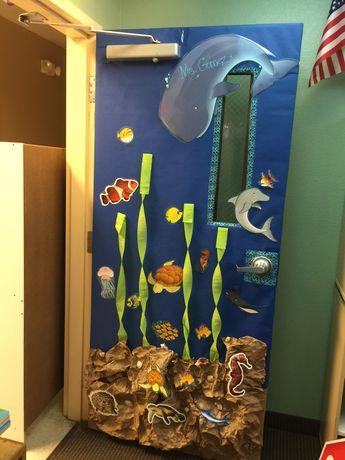 My classroom Door. Under The Sea 🐳
