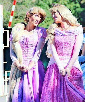 Rapunzel & Aurora