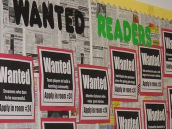 Classroom Classifieds - Back To School Bulletin Board Idea