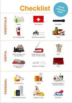 Emergency Preparedness Checklist bysf72 #Disaster #Emergency #Supply_List #Check_List