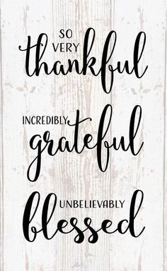 19 Positive Quotes About Being Thankful
