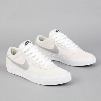 Nike SB Bruin Swan - Matte Silver - White - Mint Nukunudompanich