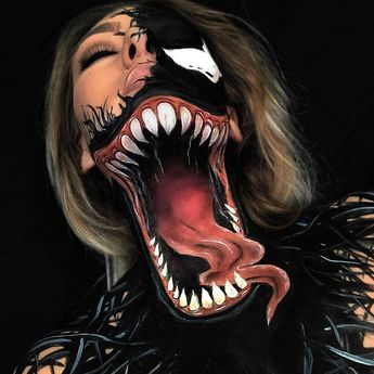 """@megnic_ on Instagram: """"Venom🕷🕸 Venom was one of the first looks I ever ..."""
