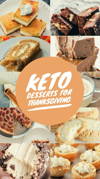25 Low-Carb Keto Thanksgiving Desserts