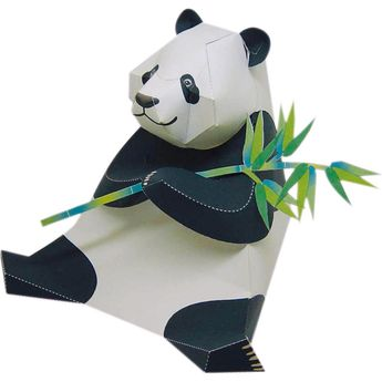 Panda,Animals,Paper Craft,China,Mammals ,Herbivores,Endangered species,Animals,Paper Craft,Panda