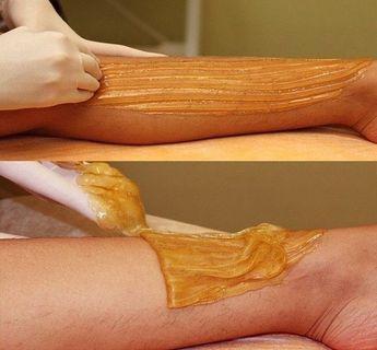Vegan Sugar Wax - No strips - All natural hair removal - Sugaring Paste - Sensitive Skin - Brazilian
