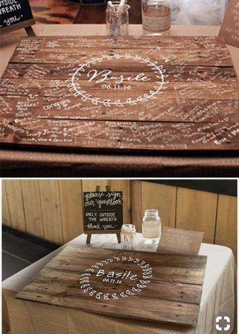 Client sign inspiration  *pictured sign not made by Distressions  #wedding #weddingsign #rusticwedding #barnwedding #farmhousewedding #engravedsign #weddingdecor #weddingdecoration