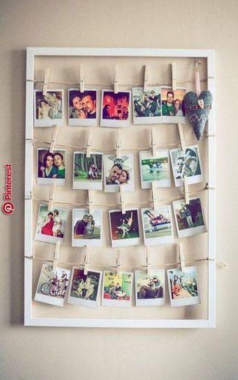New wall decored bedroom college polaroid Ideas   - Dekorasyon - #Bedroom #college #Decored #Dekorasyon #Ideas #polaroid #Wall