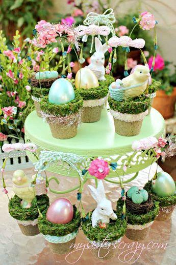 DIY Spring Bunny Wreath