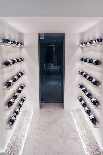 25+ Luxury Modern Wine Cellar Ideas To Make Your Happy