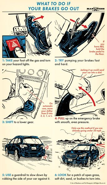 What To Do If Your Brakes Fail