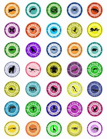 picture relating to Creature Power Discs Printable known as Blank Creature Electrical power Disc - if your self contain