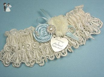 02b0c7960 Pink Blush Wedding Garter Set in Satin with Linked Hearts a