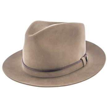 adcb466f081 Empire - Walrus Hats Grey Wool Felt Fedora Hat - H7001