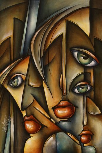 "Saatchi Art Artist Michael Lang; Painting, ""'Urban Expression'"" #art"