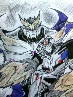 Image - Starscream & Megatron - Optimus X Harmonie love