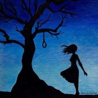 #thehangingtree #depression #suicide #drawings #art
