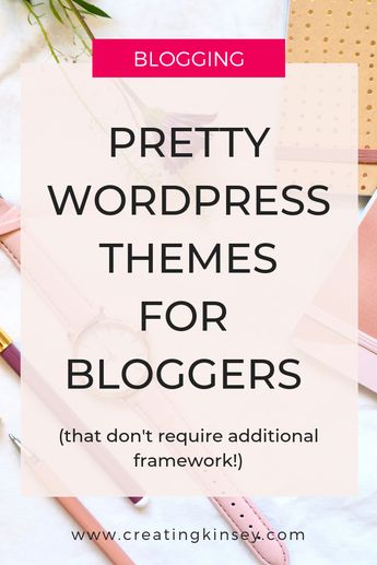 Pretty Wordpress Themes for Bloggers, Lifestyle Blogger Wordpress Themes, Feminine Wordpress Themes