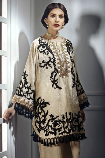88b44d414b Blooming gold ready to wear dress by Suffuse by Sana Yasir party wear  collection 2018