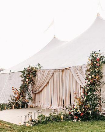 20 Tented & Outdoor Wedding Decoration Ideas