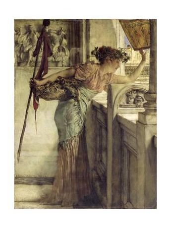 'There He Is!', 1875By Sir Lawrence Alma-Tadema