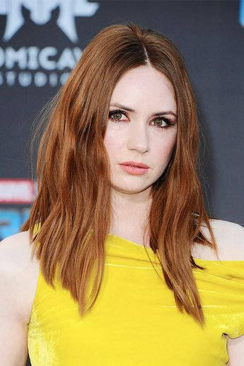 Karen Gillan attending the premiere of 'Guardians of the Galaxy Vol.2' at Dolby Theatre in Hollywood, California - 19 April 2017