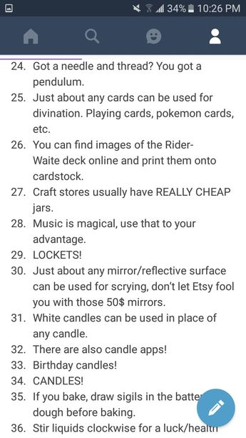 100 Witch Tips Part 3