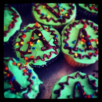 AmeriCorps cupcakes
