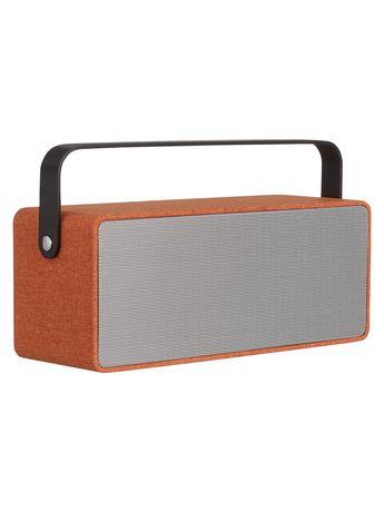 John Lewis & Partners Polka Portable Bluetooth Speaker, Orange