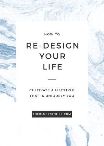 Steps Toward A Re-Defined Lifestyle