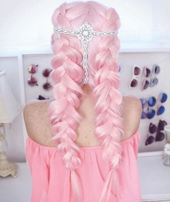 50 Pretty Pastel Pink Hair Color As The Inspiration To Try Pink Hair