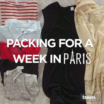 Packing for a Week in Paris