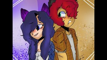 Fanart: Aphmau|| Blaze x Dottie= Daze by CookieScribbs