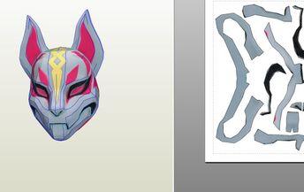 Drift Mask Fortnite Template Rodentsolutions
